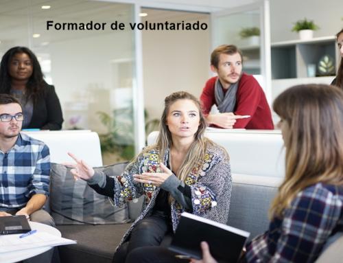 Formador de voluntariado profesional cualificado